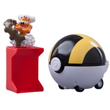 Pokemon Catch 'N Return Landorus and Pokeball