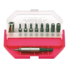 "Security Bit Set 11Pc 3/32""-5/16"""