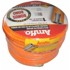 Pvc Hose 3/8 X 50 Orange Three Rolls