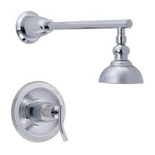 "Sonora Shower Trim with 4"" Downpour Shower Head  in Chrome"