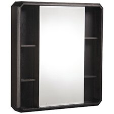 "Cirtangular 24"" x 28"" Surface Mount Beveled Edge Medicine Cabinet"