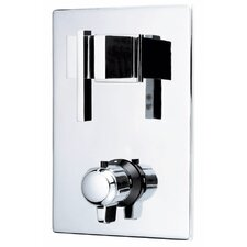 Sirius Two Handle Thermostatic Faucet Shower Faucet Trim Only