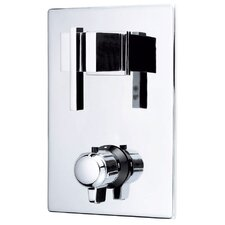 Sirius Two Handle Thermostatic Shower Trim Only