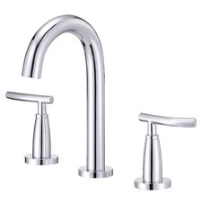 Sonora Widespread Bathroom Sink Faucet with Double Lever Handles