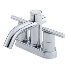 Parma Centerset Bathroom Faucet with Double Lever Handles