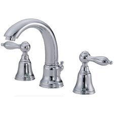 Fairmont Widespread Bathroom Faucet with Double Lever Handles