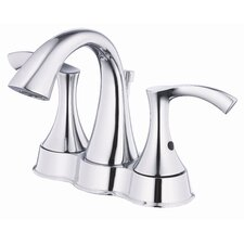 Antioch Centerset Bathroom Sink Faucet with Double Lever Handles