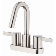 Amalfi Centerset Bathroom Sink Faucet with Double Lever Handles