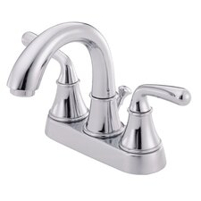 Bannockburn Two Handle Centerset Bridge Bathroom Faucet
