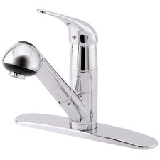 Melrose Single Handle Pull-Out Kitchen Faucet