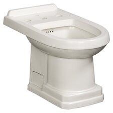 "Cirtangular 14.88"" Floor Mount Bidet"