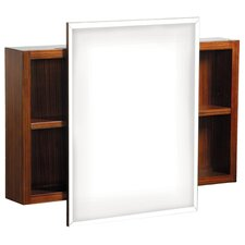 "<strong>Danze®</strong> Ziga Zaga 30"" x 18"" Surface Mount Beveled Edge Medicine Cabinet"