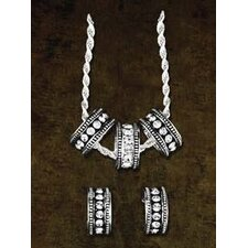 Triple Ring Jewelry Set