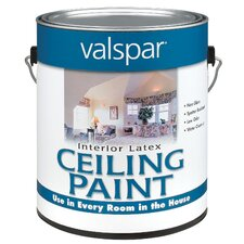 1 Gallon Interior Latex Ceiling White Paint