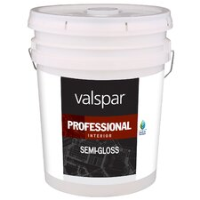 5 Gallon White Interior Professional Series Paint Semi Gloss
