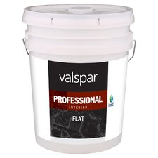 5 Gallon White Flat Interior Professional Series Paint