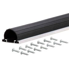 <strong>M-d Products</strong> Black Universal Garage Door Bottom