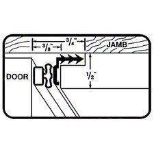 Magnetic Door Weather Strip