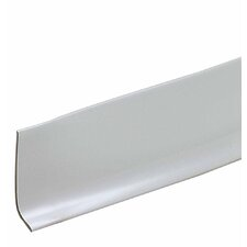 "16.75"" x 16.38"" Dry Back Vinyl Wall Base in Gray"