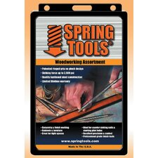 4 Piece Spring Tools® Woodworking Assortment Set WW796