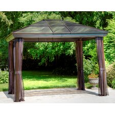 "Four Season 9' 2"" H x 9' 9"" W x 9' 9"" D Gazebo"