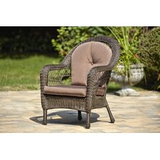 <strong>Gazebo Penguin</strong> Single Dining Arm Chairs with Cushions (Set of 2)