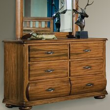Timberline Dresser and Mirror Set
