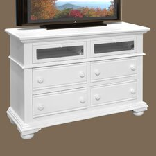 <strong>American Woodcrafters</strong> Cottage Traditions 4 Drawer Media Dresser