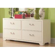 Smart Solutions 4 Drawer Double Dresser