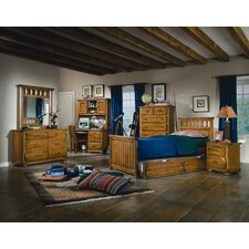 <strong>American Woodcrafters</strong> Timberline Panel Bedroom Collection