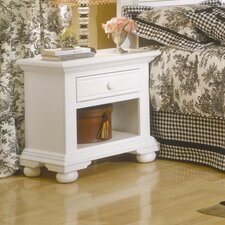 <strong>American Woodcrafters</strong> Ambleside 1 Drawer Nightstand
