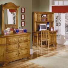 <strong>American Woodcrafters</strong> Cottage Traditions Double 6 Drawer Dresser