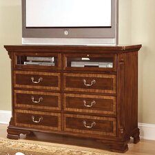 <strong>American Woodcrafters</strong> Wellington Manor 6 Drawer Dresser