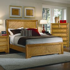<strong>American Woodcrafters</strong> Casual Home Panel Bed