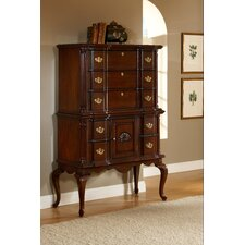 <strong>American Woodcrafters</strong> Lasting Traditions 7 Drawer Chest