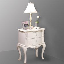 <strong>American Woodcrafters</strong> Cheri 2 Drawer Nightstand