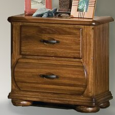 Timberline 2 Drawer Nightstand