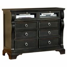 Carlisle 6 Drawer Media Chest