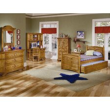 <strong>American Woodcrafters</strong> Cottage Traditions Panel Bedroom Collection