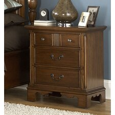 <strong>American Woodcrafters</strong> Nantucket 3 Drawer Nightstand