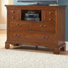 <strong>American Woodcrafters</strong> Nantucket 6 Drawer Media Chest
