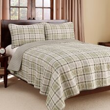 Westmont Plaid Quilt Set