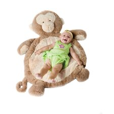 Baby Mat with Monkey in Natural