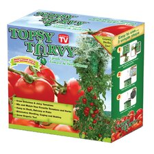 Upside Down Tomato and Herb Round Planter