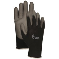 Reinforced Fingertip Polyurethane Palm Gloves