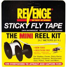 Revenge Mini Sticky Fly Tape Reel