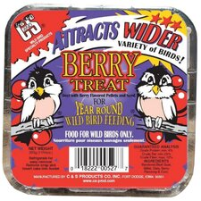 <strong>C&S Products</strong> Berry Treat Wild Bird Suet