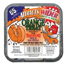 Orange Treat Wild Bird Suet