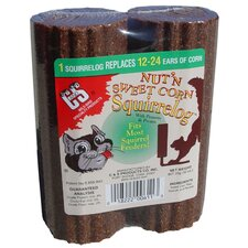 32 oz. Nut'n Sweet Corn Squirrelog Refill (Set of 12)