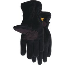 Rainwear Boss Large Anti Pill Fleece Gloves in  Black